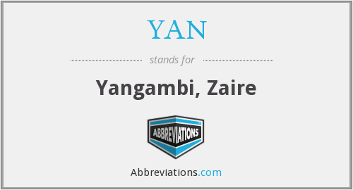 What does YAN stand for?