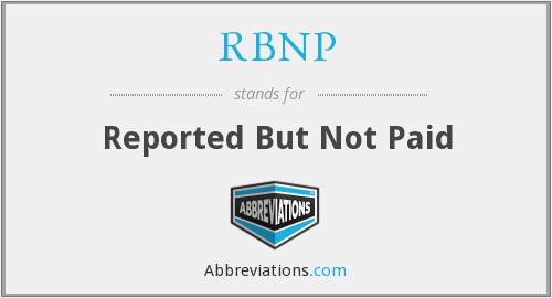 What does RBNP stand for?