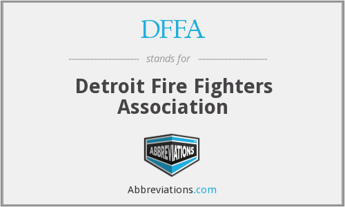 What does DFFA stand for?