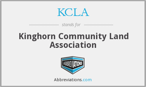 What does KCLA stand for?