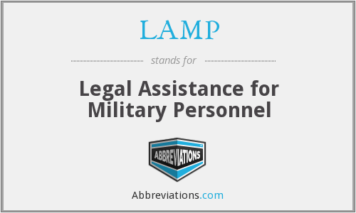 LAMP - Legal Assistance for Military Personnel