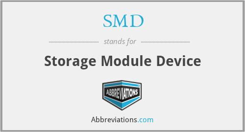 SMD - Storage Module Device