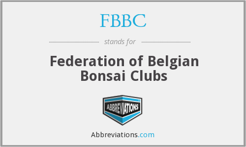 FBBC - Federation of Belgian Bonsai Clubs