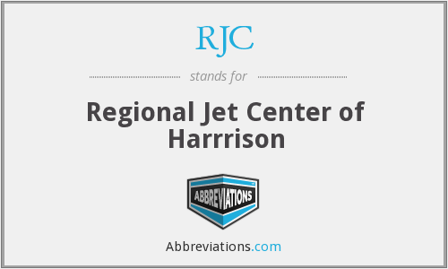 RJC - Regional Jet Center of Harrrison