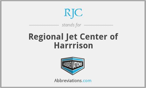 RJC - Regional Jet Center of Harrrison