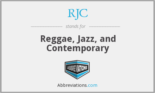 RJC - Reggae, Jazz, and Contemporary