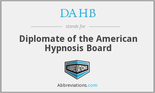 What does DAHB stand for?