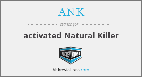 ANK - activated Natural Killer