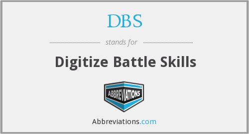 DBS - Digitize Battle Skills