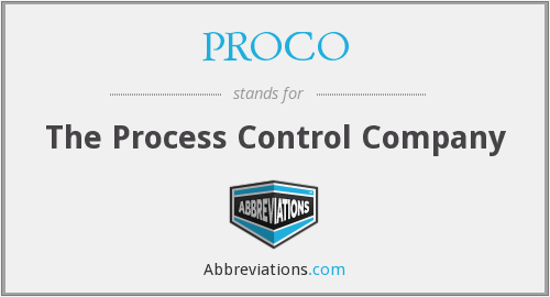 What does PROCO stand for?