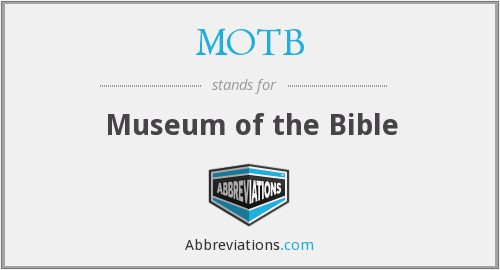 What does MOTB stand for?