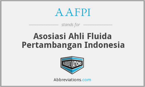 What does AAFPI stand for?