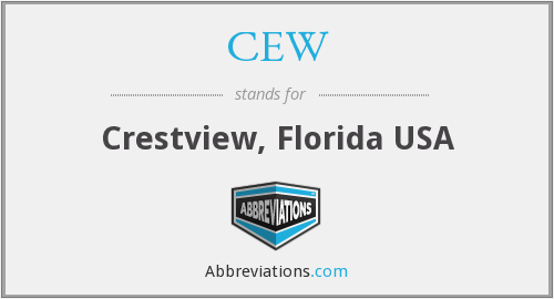 CEW - Crestview, Florida USA