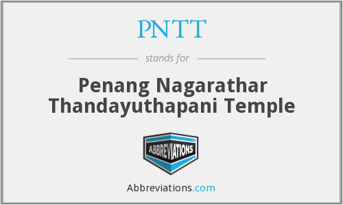 What does PNTT stand for?