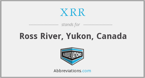 What does XRR stand for?