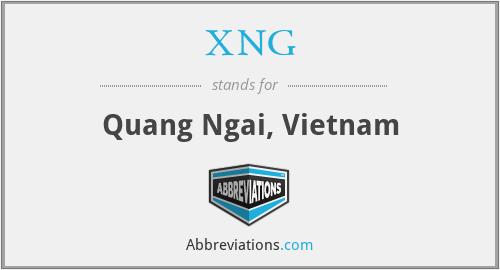 XNG - Quang Ngai, Vietnam