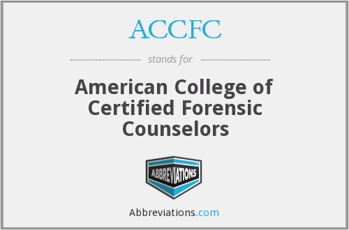 What does ACCFC stand for?
