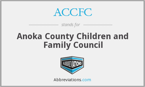 ACCFC - Anoka County Children and Family Council