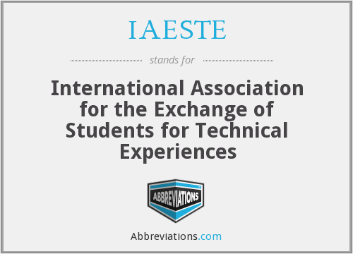 What does IAESTE stand for?