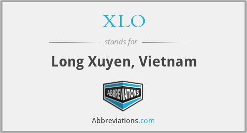 XLO - Long Xuyen, Vietnam
