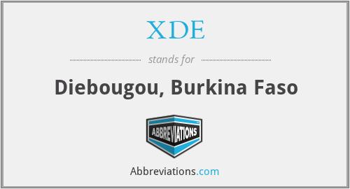 XDE - Diebougou, Burkina Faso