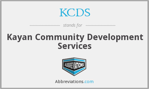 KCDS - Kayan Community Development Services