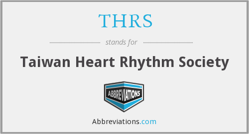 What does THRS stand for?