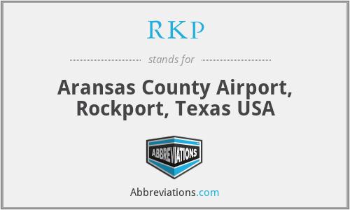 RKP - Aransas County Airport, Rockport, Texas USA