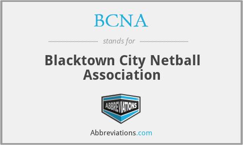 BCNA - Blacktown City Netball Association