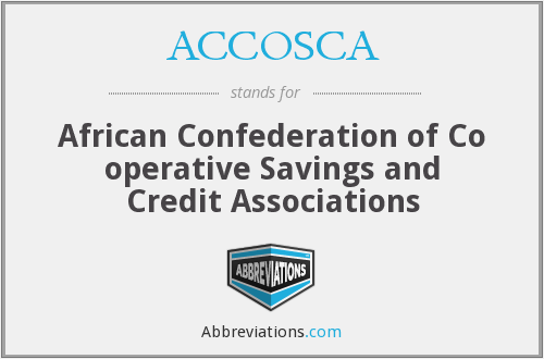 What does ACCOSCA stand for?