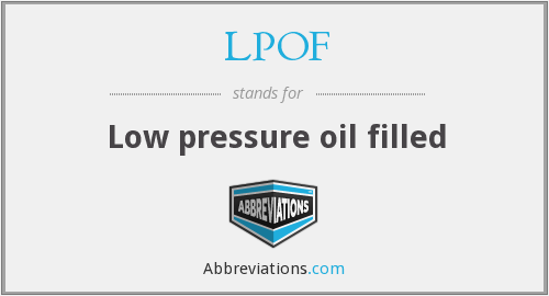 What does LPOF stand for?