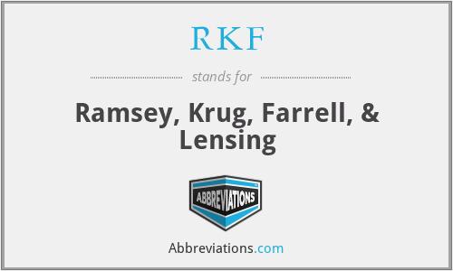 RKF - Ramsey, Krug, Farrell, & Lensing