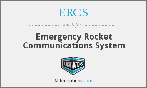 What does ERCS stand for?