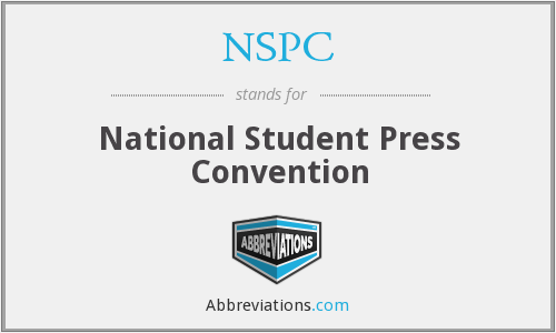 NSPC - National Student Press Convention