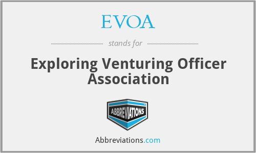 EVOA - Exploring Venturing Officer Association
