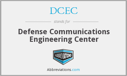 What does DCEC stand for?
