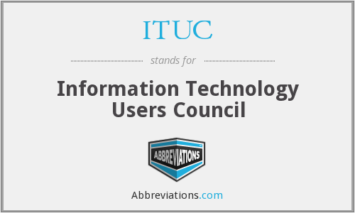 What does ITUC stand for?