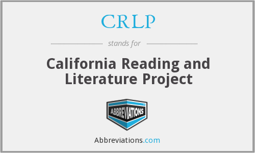 What does CRLP stand for?