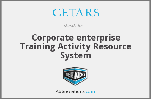 What does CETARS stand for?
