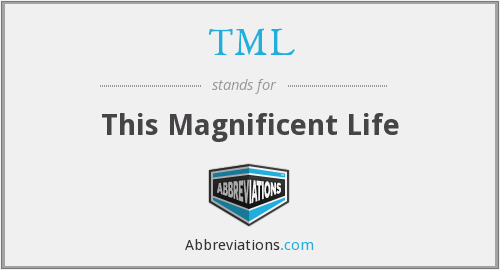 TML - This Magnificent Life