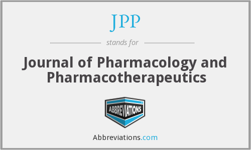 What is the abbreviation for Journal of Pharmacology and