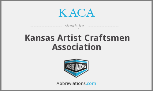 KACA - Kansas Artist Craftsmen Association