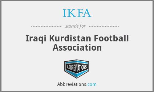IKFA - Iraqi Kurdistan Football Association