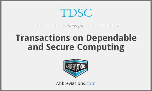 What does TDSC stand for?