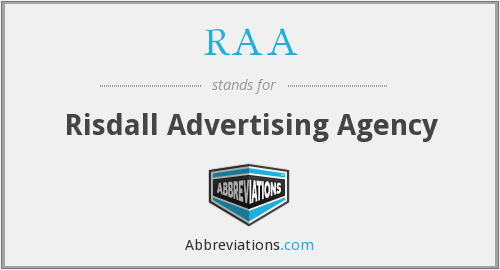 RAA - Risdall Advertising Agency