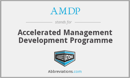 What does AMDP stand for?