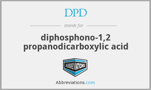 DPD - diphosphono-1,2 propanodicarboxylic acid