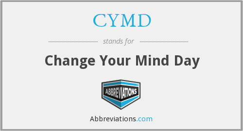 What does CYMD stand for?