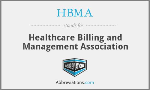HBMA - Healthcare Billing and Management Association