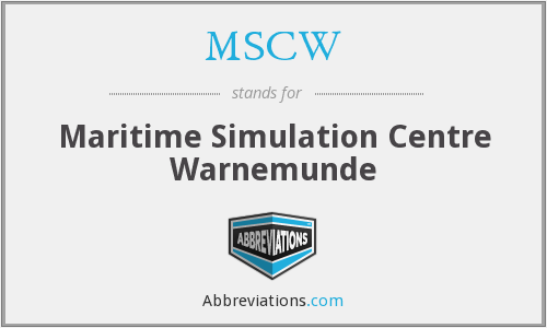 What does MSCW stand for?